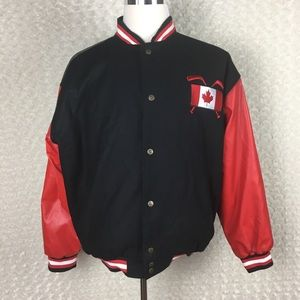 Steve And Berry's Canada Hockey Letterman Jacket L